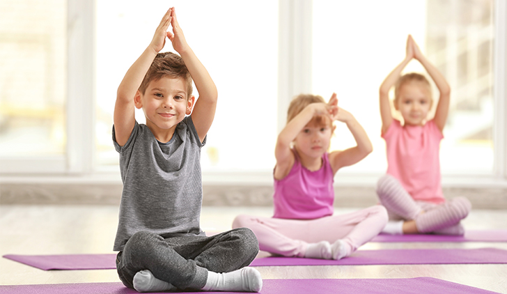 Free Gentle, Child Centred Yoga Class