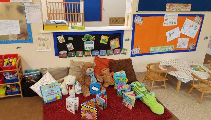 Monmar Nursery Rooms - book area